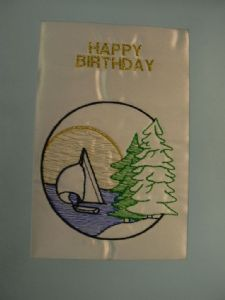 HAPPY BIRTHDAY - Sail Ship 2